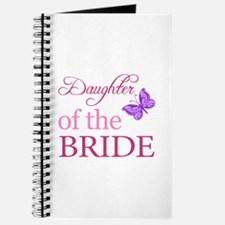 Daughter Of The Bride (Butterfly) Journal