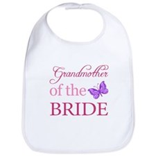 Grandmother Of The Bride (Butterfly) Bib