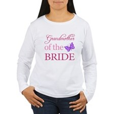 Grandmother Of The Bride (Butterfly) T-Shirt