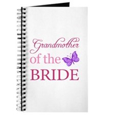 Grandmother Of The Bride (Butterfly) Journal