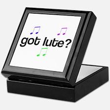Got Lute? Keepsake Box