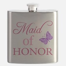 Maid Of Honor (Butterfly) Flask