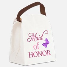 Maid Of Honor (Butterfly) Canvas Lunch Bag