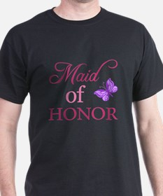 Maid Of Honor (Butterfly) T-Shirt