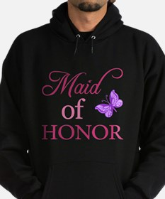 Maid Of Honor (Butterfly) Hoodie (dark)