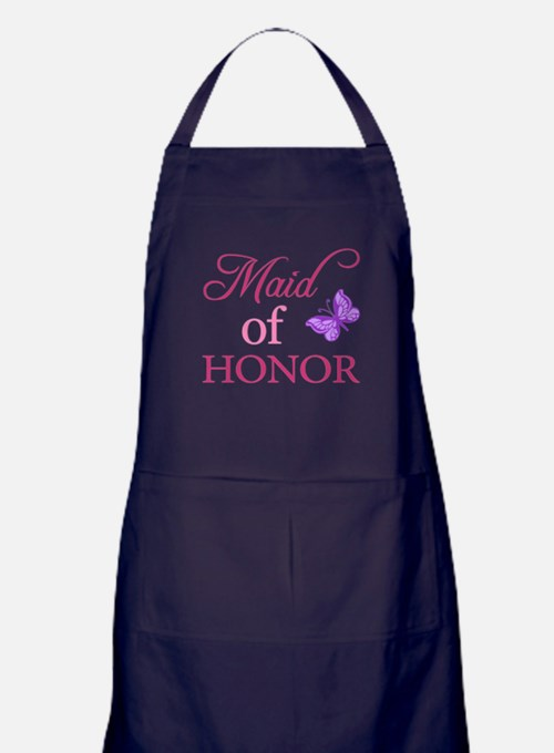 Maid Of Honor (Butterfly) Apron (dark)