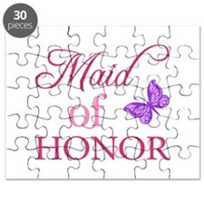 Maid Of Honor (Butterfly) Puzzle