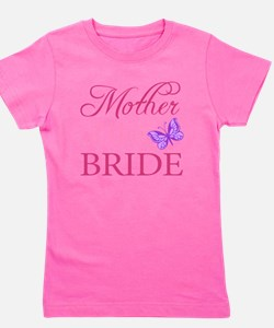 Mother Of The Bride (Butterfly) Girl's Tee