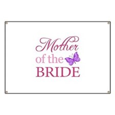 Mother Of The Bride (Butterfly) Banner