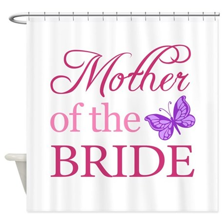 Mother Of The Bride (Butterfly) Shower Curtain