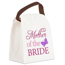 Mother Of The Bride (Butterfly) Canvas Lunch Bag