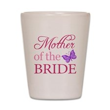 Mother Of The Bride (Butterfly) Shot Glass