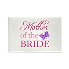 Mother Of The Bride (Butterfly) Rectangle Magnet