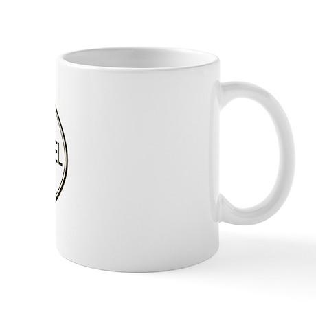 Oval Brittany Spaniel Mug