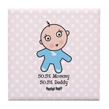 August Dolly Tile Coaster
