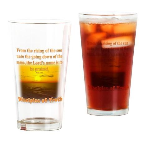 DOT Community Drinking Glass
