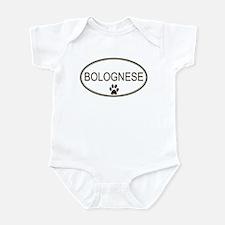 Oval Bolognese Infant Bodysuit