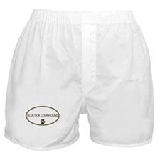 Oval Bluetick Coonhound Boxer Shorts