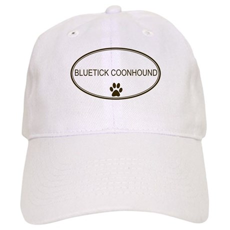 Oval Bluetick Coonhound Cap