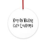 leukemia19.png Ornament (Round)