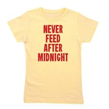 Never Feed After Midnight Girl's Tee