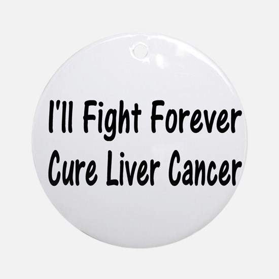 liver9.png Ornament (Round)