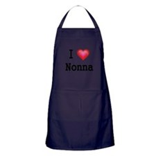 I LOVE NONNA Apron (dark)