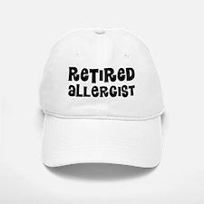 Retired Allergist Baseball Baseball Baseball Cap
