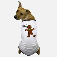 Oh Snap Gingerbread Man Dog T-Shirt