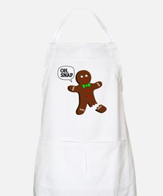 Oh Snap Gingerbread Man Apron