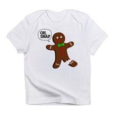 Oh Snap Gingerbread Man Infant T-Shirt