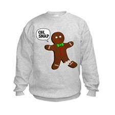 Oh Snap Gingerbread Man Sweatshirt