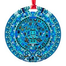 Ancient Mayan Calendar Ornament