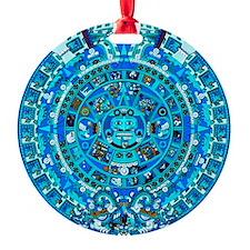 Ancient Mayan Calendar Ornament