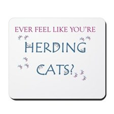 Herding cats color Mousepad