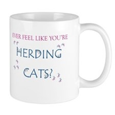 Herding cats color Mug