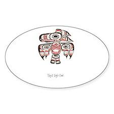 Eagle Crest, Tlingit Alaskan Native Art Decal