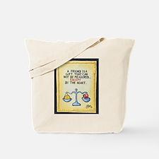 Best Friends / Sculpted Art Tote Bag
