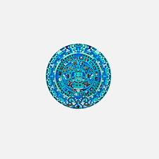 Ancient Mayan Calendar Mini Button