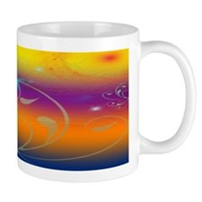 Butterflies and Cosmos Mug