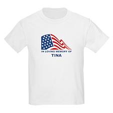 Loving Memory of Tina Kids T-Shirt