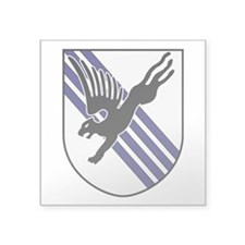 "505th PIR Square Sticker 3"" x 3"""