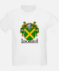 Dowd Coat of Arms Kids T-Shirt