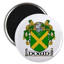 """Dowd Coat of Arms 2.25"""" Magnet (10 pack)"""
