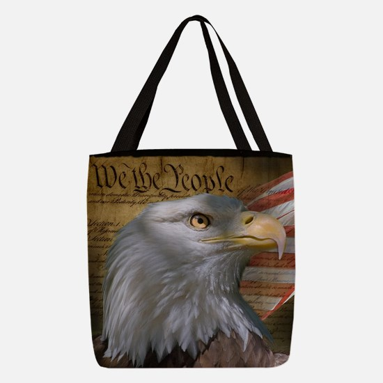 We The People Polyester Tote Bag