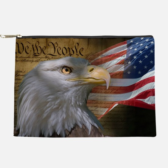 We The People Makeup Pouch