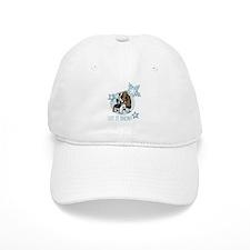 Let it Snow Basset Baseball Cap