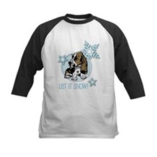 Let it Snow Basset Tee