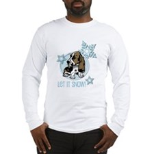 Let it Snow Basset Long Sleeve T-Shirt