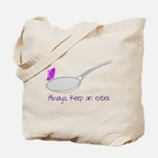 Extra Spoon Tote Bag